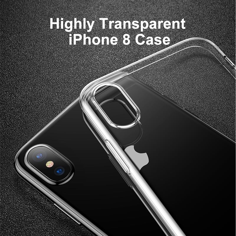 b01d3539f53 Baseus iPhone X Üliõhuke Silikoon Ümbris - Ellab.ee