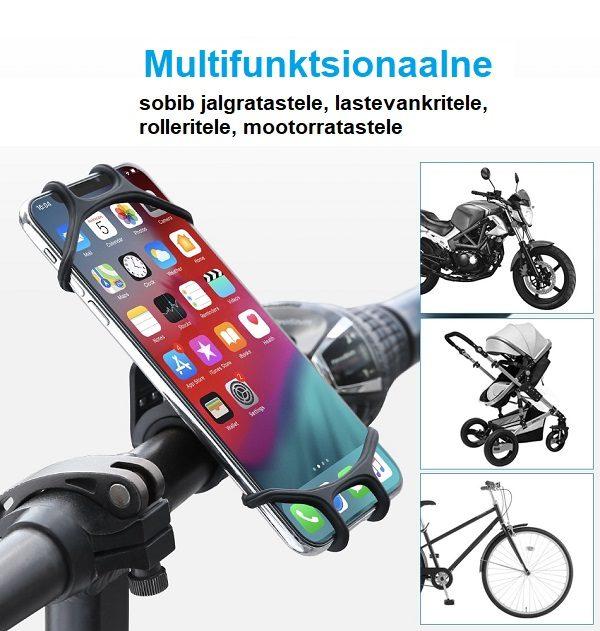 telefonihoidja jalgrattale